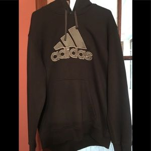 2XL Blue Adidas Pull-over Hoodie